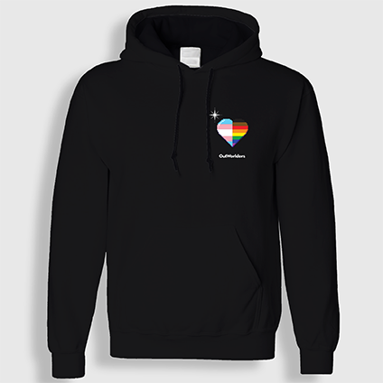2020 Level Up Hoodie (in black)