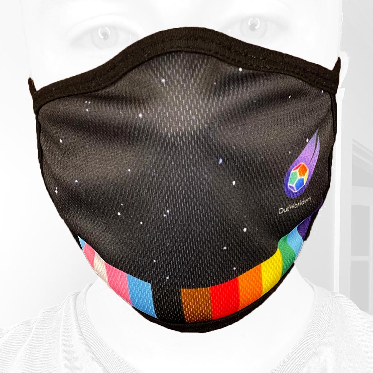 Pride Prism Mask